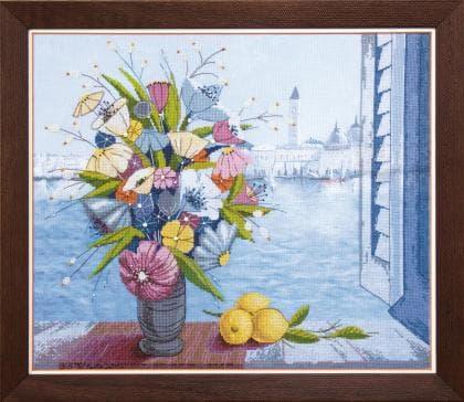 Ранок у Венеції ВТ-514 Crystal Art