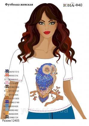 Футболка жіноча футболка ЮМА-40 ЮМА