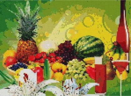 Натюрморт фруктовий ST463 Алмазна мозаїка IF