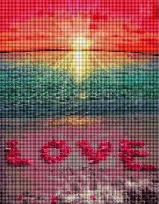 Сонце, море, кохання ST465 Алмазна мозаїка IF