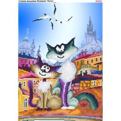 Закохані коти 502 Biser-Art