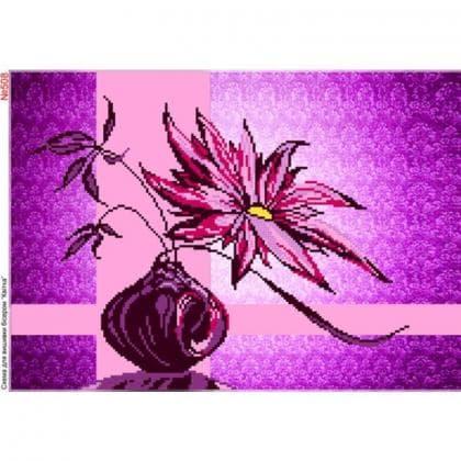 Бузкова квітка 508 Biser-Art