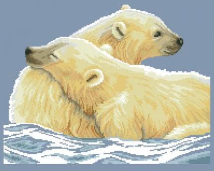 Білі ведмеді ЧВ-5097 Бісерок
