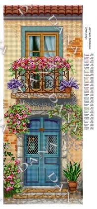 Квітучий балкончик dana-5124 DANA
