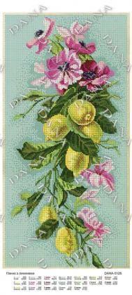 Лимон з квітами dana-5126 DANA