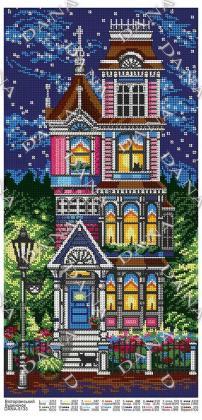 Вікторіанський будинок dana-5133 DANA