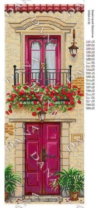 Квітковий балкончик dana-5135 DANA
