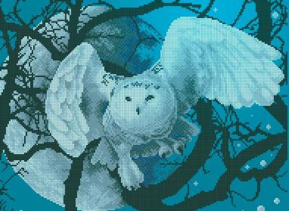 Біла сова ЧВ-5166 Бісерок