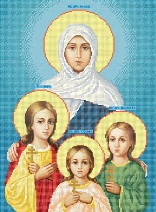 Віра, Надія, Любов та їхня мати Софія ЧВ-5220 Бісерок
