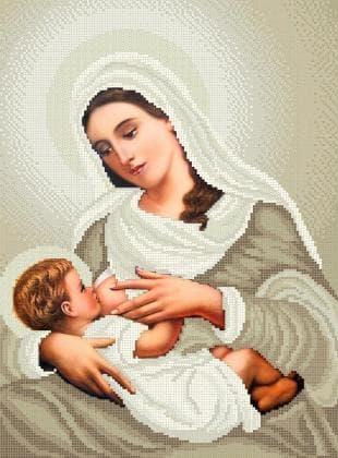 Мати Божа Годувальниця ЧВ-5221 К Бісерок
