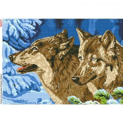 Вовки 537 Biser-Art