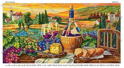 Плантації вина dana-541 DANA