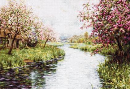 Весняний пейзаж В545 Luca S