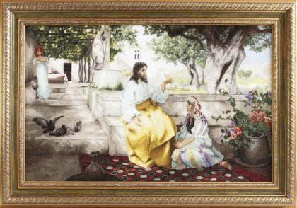 Христос у Марфи та Марії М-314 Чарівна Мить