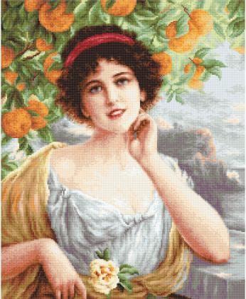 Красуня під апельсиновим деревом В546 Luca S