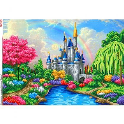 Казковий замок 555 Biser-Art