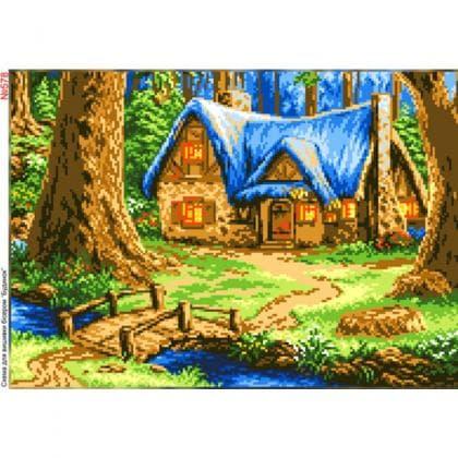 Хатинка в лісі 578 Biser-Art