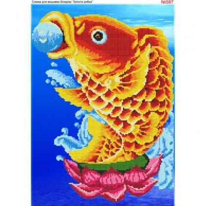 Золота рибка 587 Biser-Art