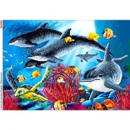 Дельфіни 589 Biser-Art