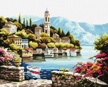 Чарівне ужбережжя SP034 Алмазна мозаїка IF