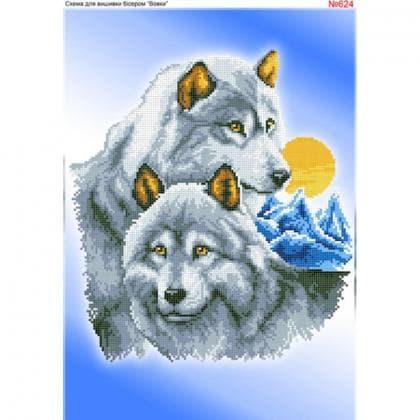 Вовки 624 Biser-Art