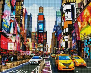 Сучасне місто SP033 Алмазна мозаїка IF