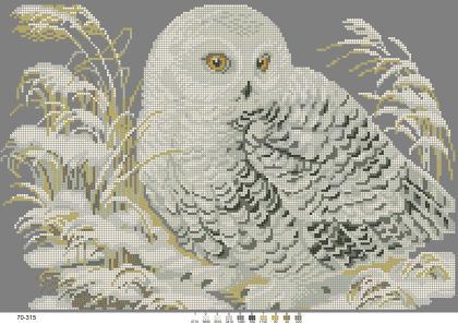 Біла сова 70-315 Бісерок