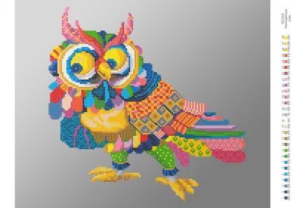 Різнобарвна сова 70-319 Бісерок