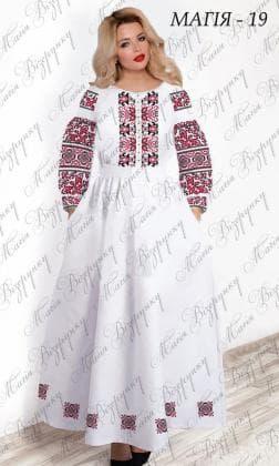 Заготовка плаття Плаття Магія-19 Магія Візерунку
