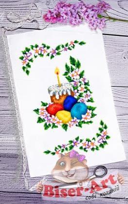 Великодній рушник ПР-063 Biser-Art