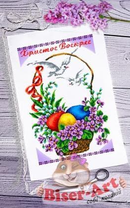 Великодній рушник ПР-065 Biser-Art