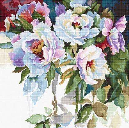 Білі троянди В2400 Luca S