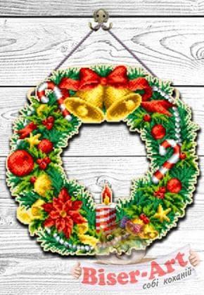 Оберіг новорічний 93040530 Biser-Art