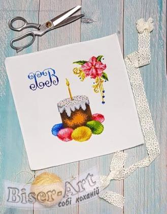 Дитяча великодня серветка 9504 Biser-Art