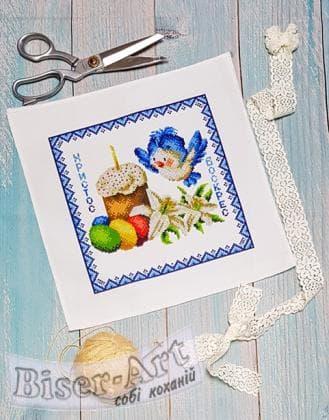 Дитяча великодня серветка 9506 Biser-Art