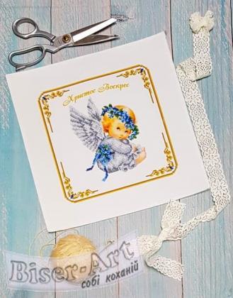 Дитяча великодня серветка 9508 Biser-Art
