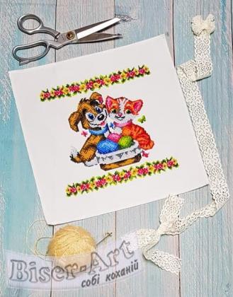 Дитяча великодня серветка 9510 Biser-Art