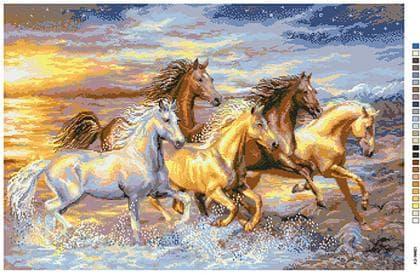 Коні А2-16-021 Вишиванка