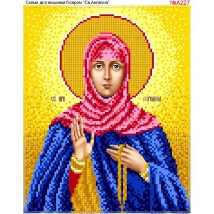 Свята  Ангеліна А227 Biser-Art