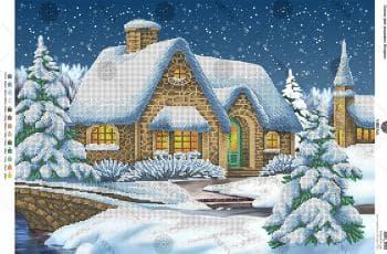 Зимовий пейзаж А2Н-020 VIRENA