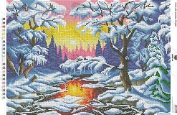 Зимовий струмок А2Н-038 VIRENA