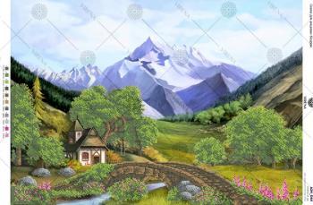 Гірський пейзаж А2Н-044 VIRENA