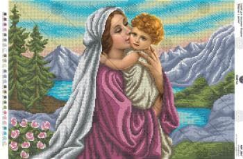 Мадонна з дитям А2Р-067 VIRENA