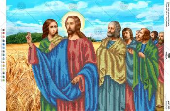 Розмова Ісуса з апостолами