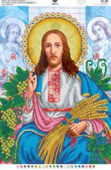"""За мотивами ікони О.Охапкіна """"Ісус Христос"""""""