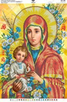 """За мотивами ікони О.Охапкіна """"БМ з Ісусом"""""""