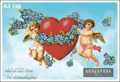 Ангелики А3-198 Кольорова