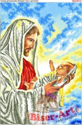 Ісус з немовлям А3012 Biser-Art
