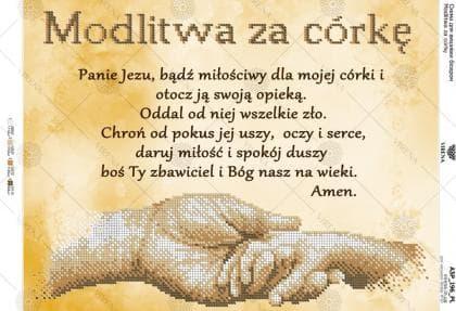 Modlitwa za córkę