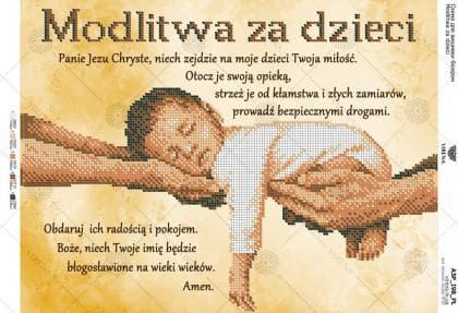 Modlitwa za dzieci АЗP-198 PL VIRENA